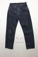 Levi's 551 (Cod. F855) Tg.46 W32 L34 accorciato a L30  jeans usato blu notte.