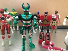 POWER RANGERS   VINTAGE FIGURINE LOT 1996 BANDAI