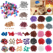 DIY 100pcs Vintage Sealing Wax Beads For Retro Seal Stamp Wedding Envelope Card