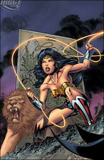 Wonder Woman Trinity Poster by Andy Kubert - 24 x 36 - DC Comics