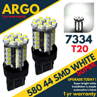 582 W21w 580 Smd Led 7443 Bulb Xenon Sidelight Indicator Reverse Light Drl White