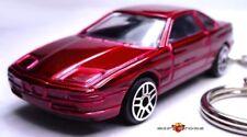 RARE! KEY CHAIN DARK RED BMW 8 SERIES 840i 850i 850Ci Csi M LIMITED EDITION NEW