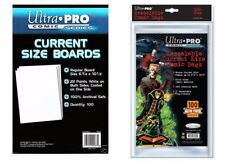 20 x Ultra Pro - Resealable CURRENT Size Comic Bags & Backing Board Bundle
