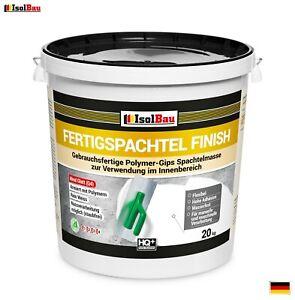 Spachtel masse 20 kg Fertigspachtel Finish Q1-Q4  Glätt Flächen Spachtelmasse