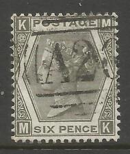 STAMPS-GREAT BRITAIN Used ABROAD-GIBRALTAR. 1873. 6d Grey. SG: Z49. Fine Used