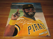 "1981 Feelin' 7up Dave Parker ""The Cobra"" Pittsburgh Pirates Super Star Poster"