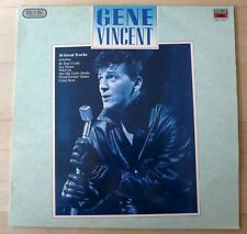 "GENE VINCENT ROCK N ROLL GREATS 12""  VINYL ALBUM PROMO MFP 41 5749 1"