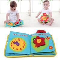 Baby Kids Intelligence Development Toys Cloth Cognize Books Educational Toy