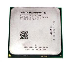 AMD Phenom II X6 1075T Six-Core 3.0GHz 6M 125W Socket AM3 CPU Processor