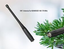 "Kenwood TK2180 TK5210 TK5220 VHF loaded whip antenna Broad-band 9.5"" KRA-28"