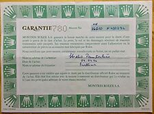 Rolex vintage certificato di garanzia di 16610 N437296 Submariner Acciaio 1995 ORIGINALE
