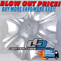 89-9079V 60801675F-1 89-9079 60801675F-2 Vogue Wheels Rim Center Cap NEW w/Screw