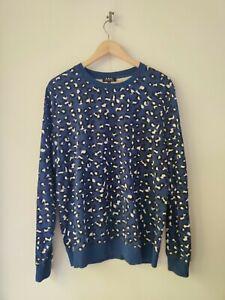 APC Leopard Jumper Sweater Size M