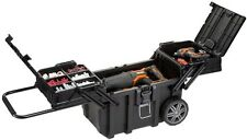 Rolling Tool Box Organizer Portable Workshop Cart Storage Bin Husky 25 in.