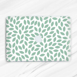 Green Leaves Floral Minimalist Nature Hard Case For Macbook Air 13 Pro 16 13 15