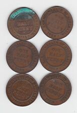 1916 Half Penny Coin Australia price is for ONE only L-884