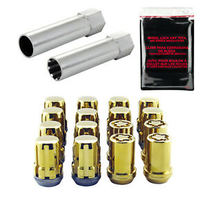 McGard 65454GD Gold M12x1.25  Wheel Installation Kit