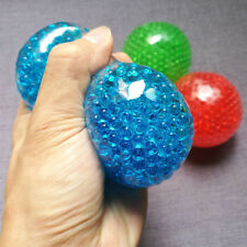 Bead Gel Stress Ball Anti Stress Autism Squeeze Fidget Sensory Orbeez Filled Toy