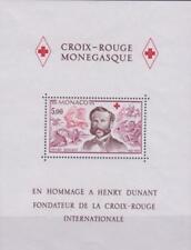 Monaco 1978 Souvenir Sheet #1137 Henri Dunant, Founder of Red Cross - MNH