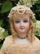 """""""Beautiful!!"""" 16"""" Bru Smiler Antique Reproduction Bisque Doll By Shirley Antoon"""