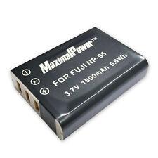 Refulergy Battery For FUJI FUJIFILM NP-95 FinePix REAL 3D W1, X100, X100S, X-S1