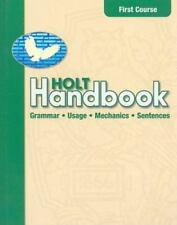 Holt Handbook: Holt Handbook, Grade 7 : Grammar Useage and Mechanics by Rinehar…