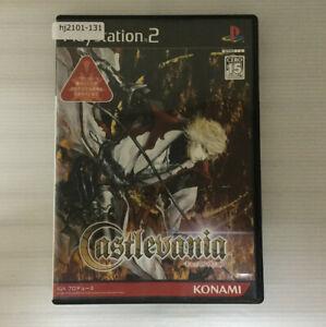 SONY PS2 Castlevania Working NTSC-J Japan hj2101-131