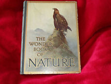 THE WONDER BOOK OF NATURE EDIT HARRY GOLDING