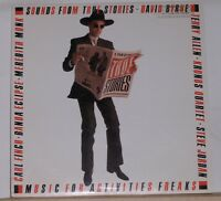 DAVID BYRNE - Sounds From True Stories - Original PROMO LP - Near Mint Record