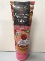 Strawberry POUND Cake 24 Hr Moisture Ultra Shea Body Cream 8oz Bath & Body Works
