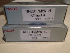 NEW I SET OF NACHI NN3017M2K-G, NN3017M2K-N CYLINDRICAL BEARING + CUP(NEW)