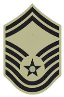 Lot of 20 US Air Force Senior Master Sergeant ABU Rank Chevron Patches - Male