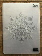 Stampin Up retired WINTER WONDER Embossing folder Christmas Snowfake