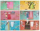 Korean Traditional Hanbok Patterns Reuseable Envelopes 6Pcs Good Gift Souvenir