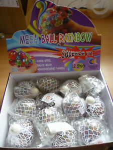 Mesh Ball Rainbow  Squeeze it  Quetschball