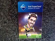 Aral 5€ Supercard BVB Sokratis  Tankkarte Gutschein Sammerstück :-)