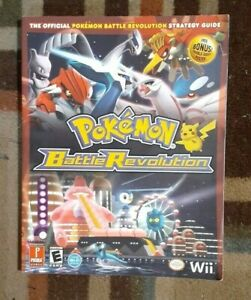 Pokemon Battle Revolution Prima The Official Strategy Game Guide Nintendo WII