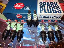 'NOS' AC - R44S Spark Plugs.....'Ram Air' GTO, Firebird, 442, LeMans...etc..