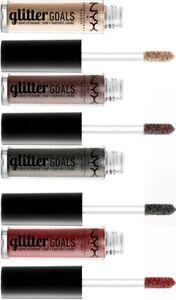 NYX Professional Makeup Glitter Goals Liquid Eyeshadow - Choose Your Shade