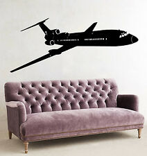 Wall Decals Airplane Plane Aircraft Boeing Vinyl Decal Sticker Mural Decor D80