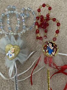 Cinderella Snow White  Vintage Magic Wands Authentic Walt Disney