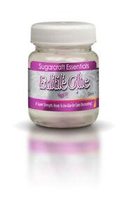 Edible Glue Essbarer Kleber - 50 ml Lebensmittel Kleber essbar Rainbow Dust