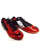 Nike Vapor Speed Low TD Mens Football Cleats Black Red Orange Mens Size 14 RARE