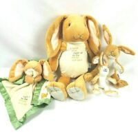 GUESS HOW MUCH I LOVE YOU STUFFED PLUSH NUTBROWN HARE BUNNY RABBIT MOM Nursery