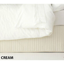 Ardor Classic Quilted Valance Cream Queen Size