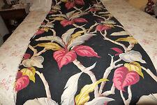 30's Barkcloth heavy Nubby Florida bungelowl  Hollywood  64x30 Hawaiiana pillow?