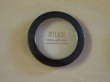 Milani Prep+Set+Go Transparent Face Powder ~ New & Sealed ~ 0.24 Oz.