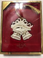Lenox China 2000 First Christmas Together Ornament Bells