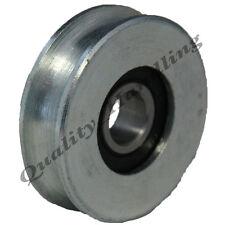 sliding Gate wheel pulley wheel 40mm round groove steel wheel with bearing R U