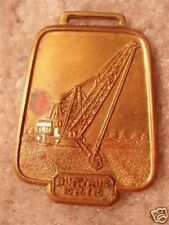 """Bucyrus Erie Dragline """"Bell"""" Watch Fob BE-28"""